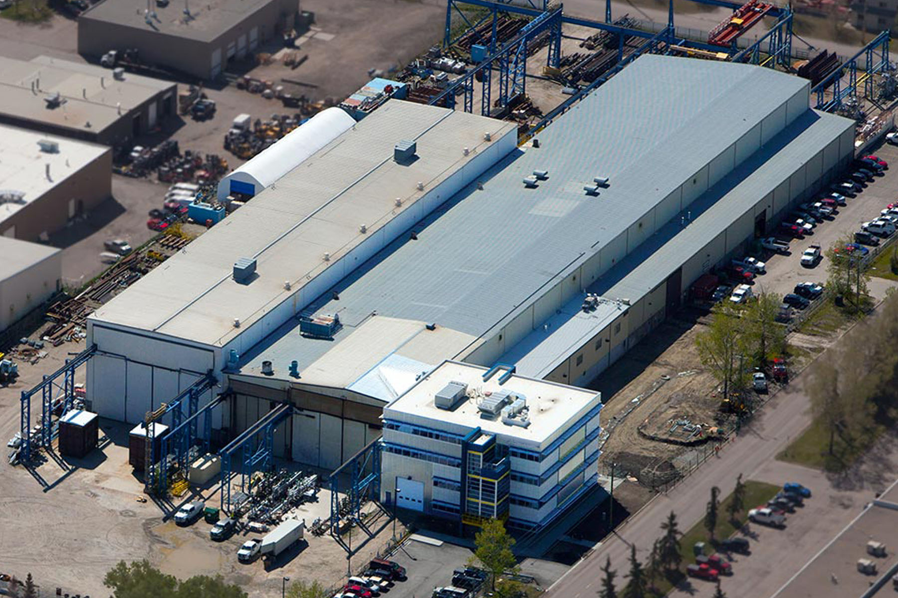 Large manufacturing Facility in North America