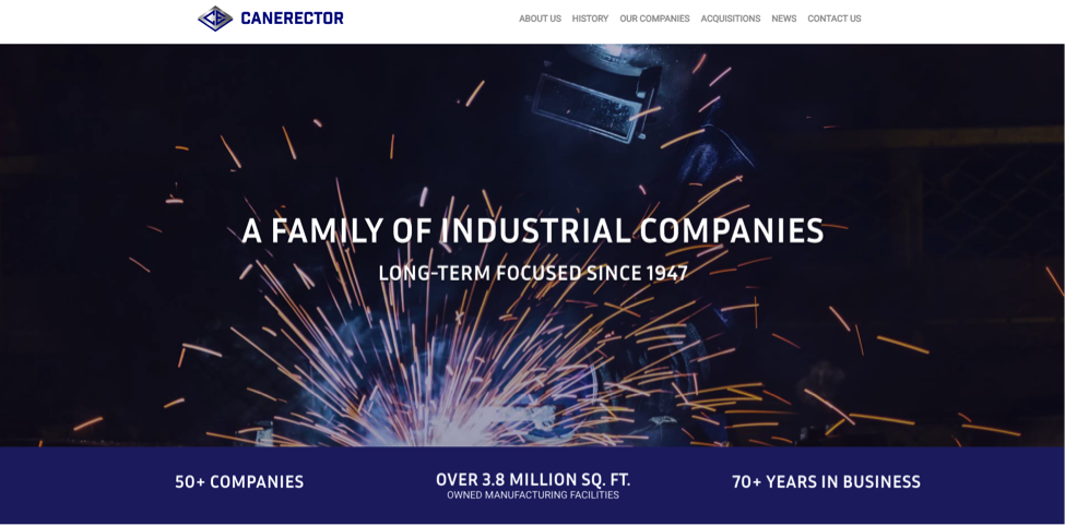 Canerector Launches New Website