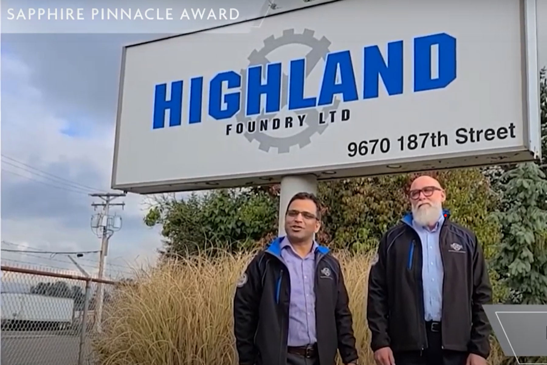 Highland Foundry Celebrates 50th Anniversary with Two Safety Awards